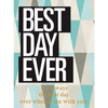 Personalized Blue Bottle - Best Day Ever Label