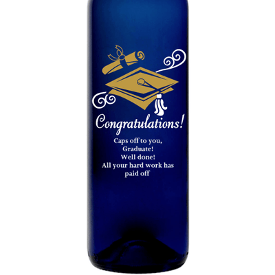 Blue Bottle - Graduation Cap
