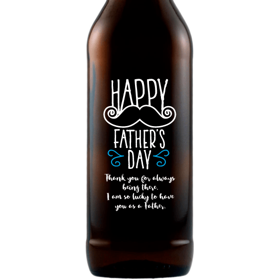 Beer - Mustache Fathers Day