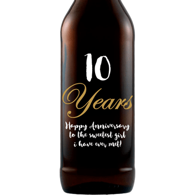Beer - Anniversary Years