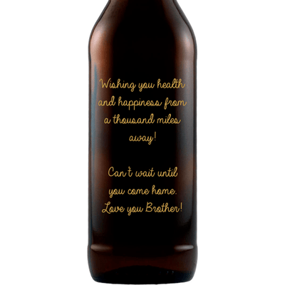 Beer - Custom Birthday Text