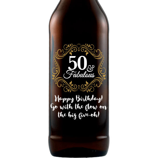 Beer - Fifty and Fabulous