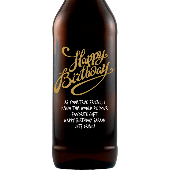Beer - Happy Birthday Fancy Y