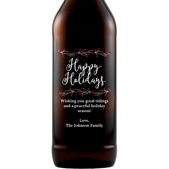 Beer - Happy Holidays Berries