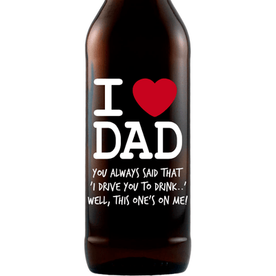 Beer - I Heart Dad