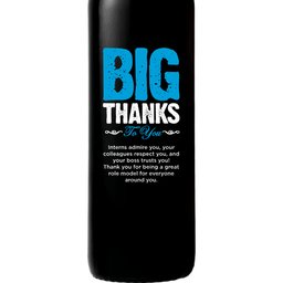 Red Wine - Big Thanks to You