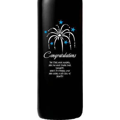 Red Wine - Congratulations Fireworks
