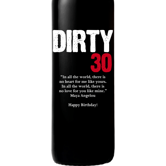 Red Wine - Dirty 30