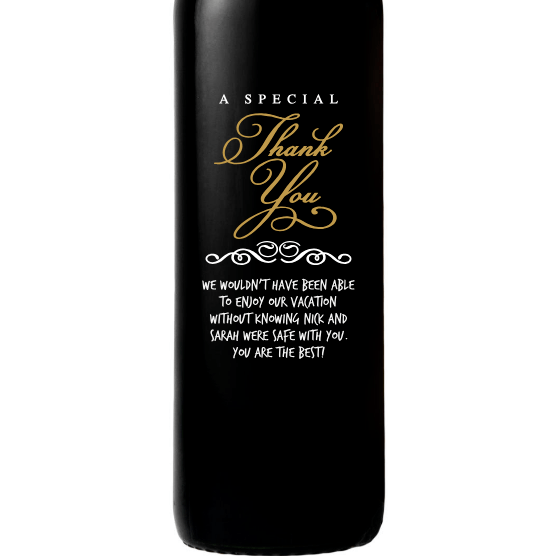 Red Wine - Special Thank You