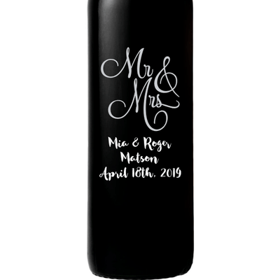 Red Wine - Mr & Mrs