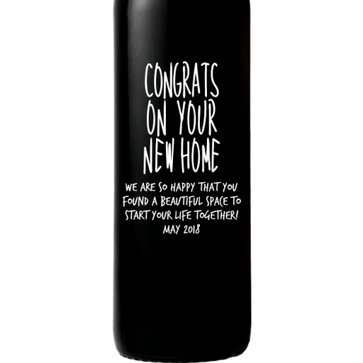 Red Wine - Congrats on Your New Home