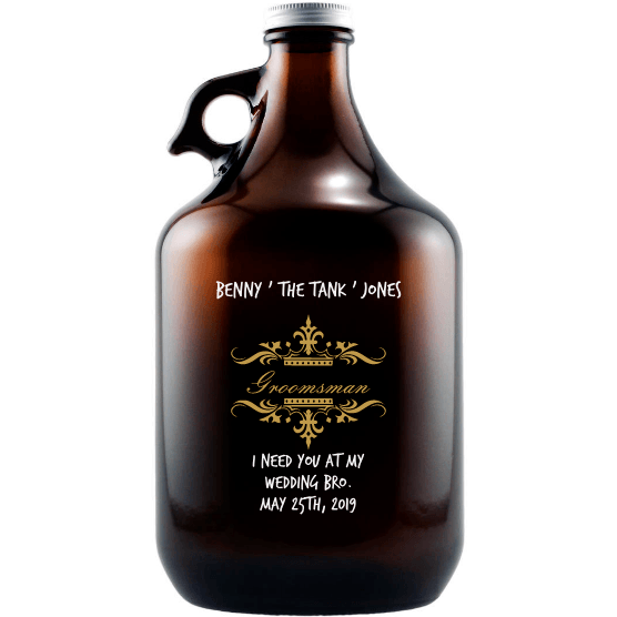 Growler - Traditional Wedding Party