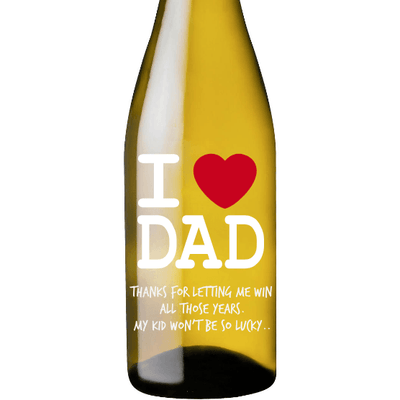White Wine - I Heart Dad