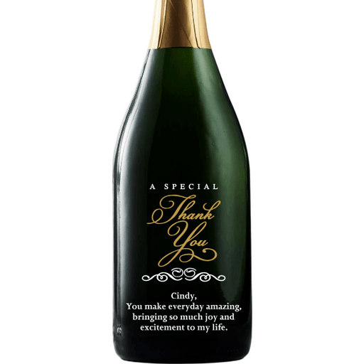 Champagne - Special Thank You - Corporate