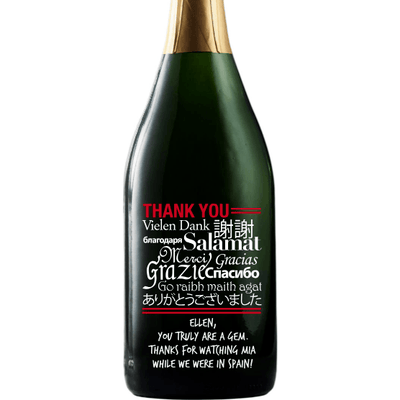 Champagne - Language of Thanks