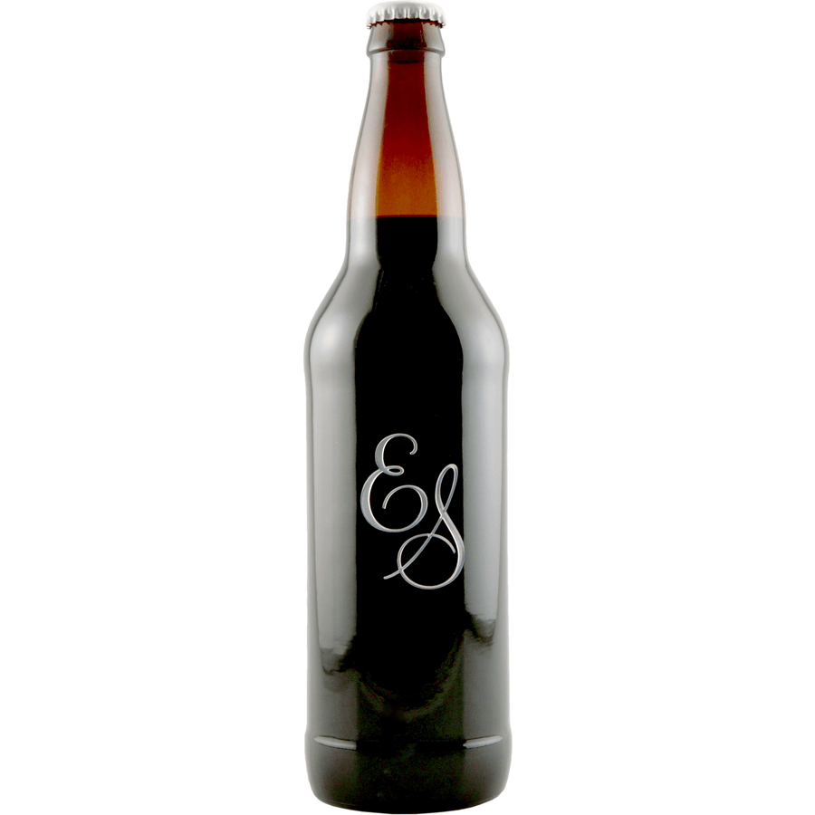 Personalized Etched Wine Bottle Gift: