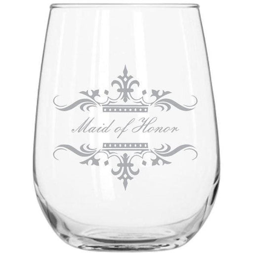 Stemless Glass - Wedding Party