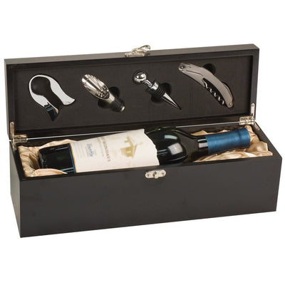 Finished Single Wine Box with Tools