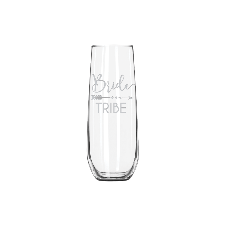 Stemless Champagne Flute - Bridesmaid Designs