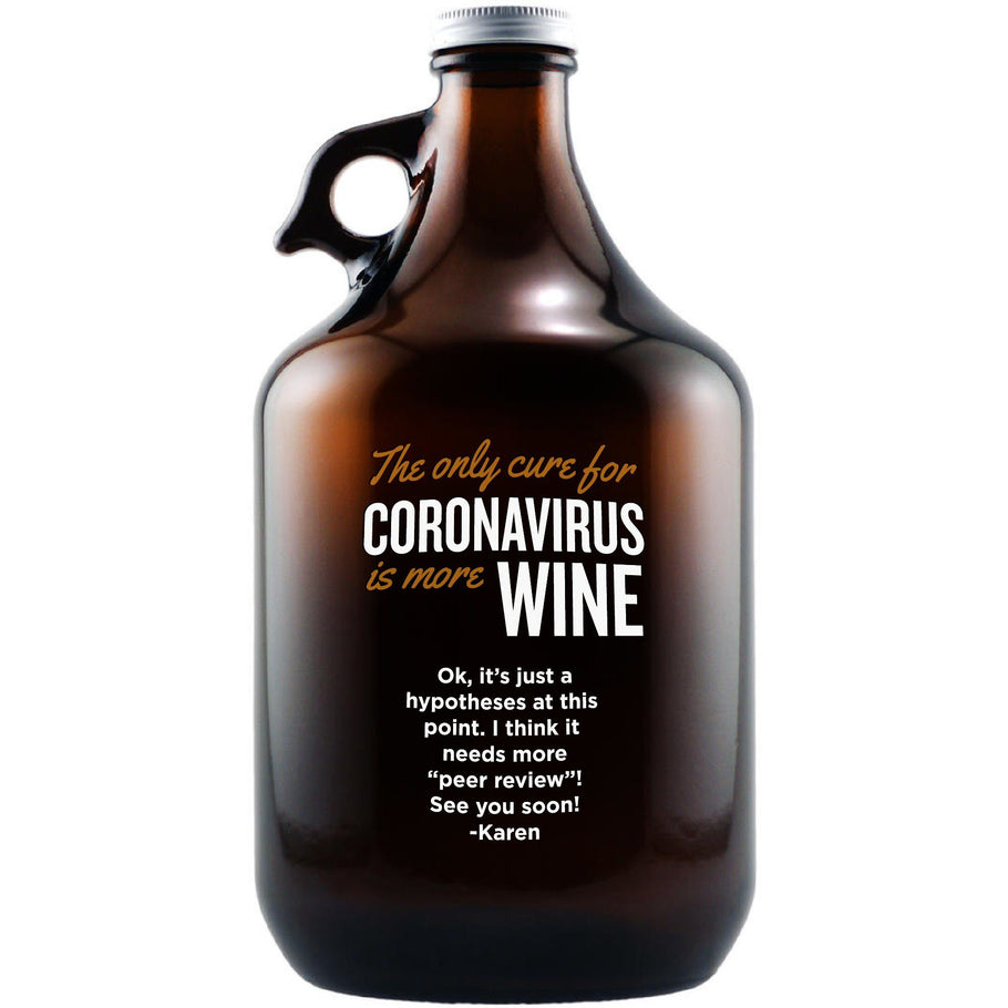 Growler - The Only Cure is More Wine