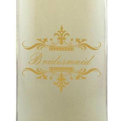 Personalied Mini White Wine - Wedding Party