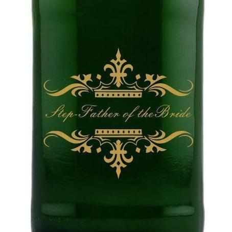 Personalied Mini Champagne - Traditional Wedding Party