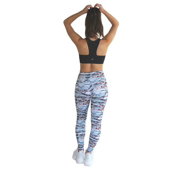Prema Seamless High Rise Yoga Leggings - Cobra Print