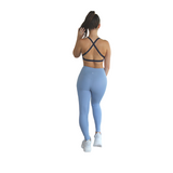 Prema Seamless High Rise Yoga leggings - Powder Blue