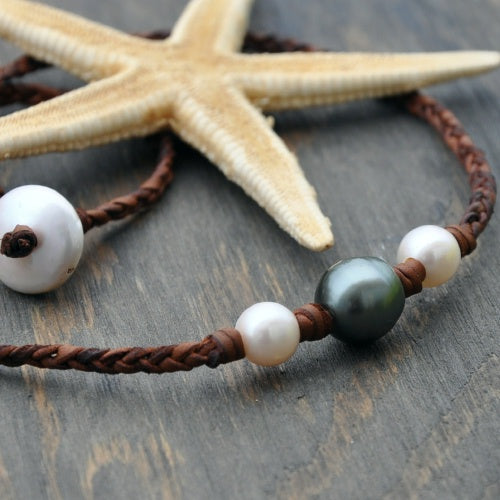 Joli Tahitian and Freshwater Pearl necklace