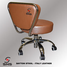 Dayton Deluxe Pedicurist Stool (Italy Leather)