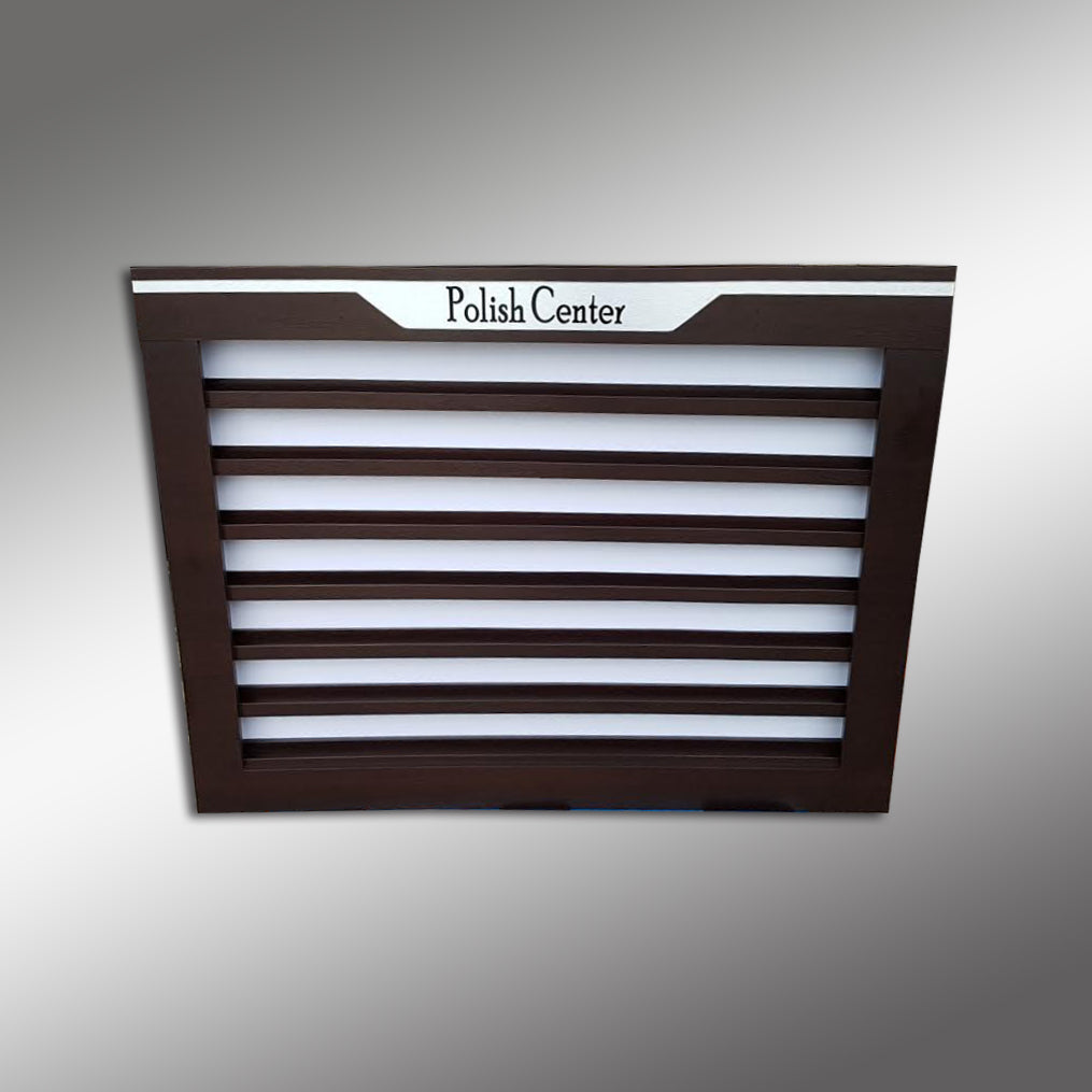 Daytona Wall Powder Rack Double - 8 inch
