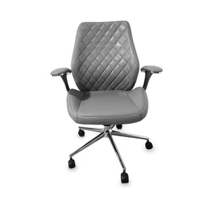 Diamond Customer Chair (Italy Leather)