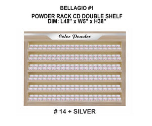 Bellagio Powder Rack Double Shelf #1