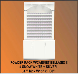 Bellagio II Powder Cabinet 48 - White