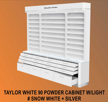 Taylor White 90 Powder Cabinet