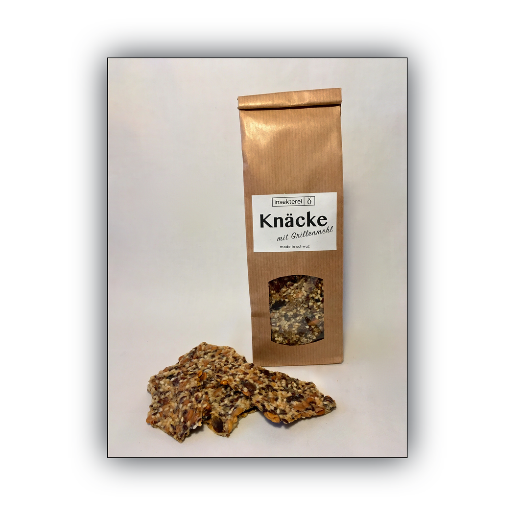 Insekterei Knäcke | Healthy pastry with cricket flour | Swiss production | 110g