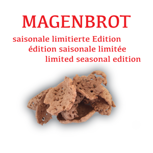 Magenbrot Crisps with Organic Mealworm |Tenebrio Molitor | Swiss production | 40g