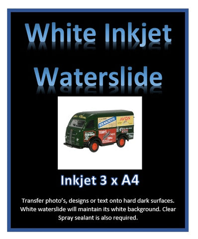white water transfer paper decal paper