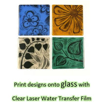 how to print on glass with laser printer waterslide decal paper