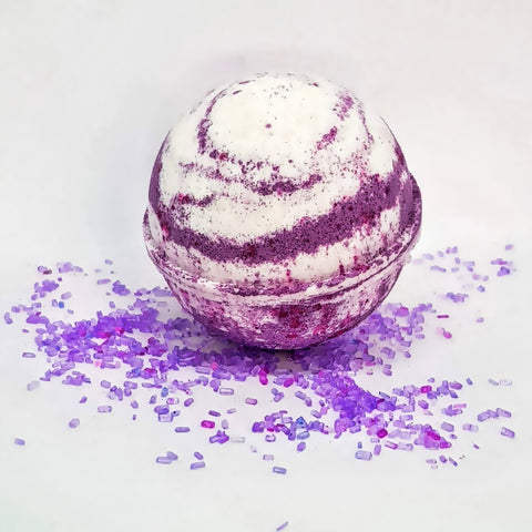 Image of Black Raspberry Vanilla Bath Bomb Ball