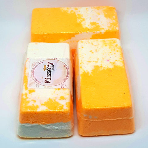 Image of Coconut Mandarin Slice Bath Bomb