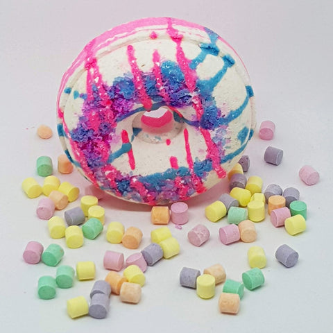 Image of Cotton Candy Bath Bomb Donut