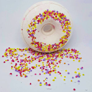 Fairy Bread Bath Bomb Donut