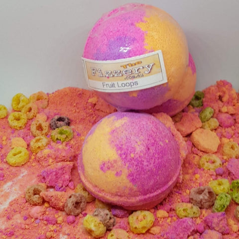 Fruit Loops FiZZ Bath Bomb Ball