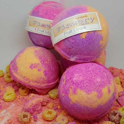 Image of Fruit Loops FiZZ Bath Bomb Ball