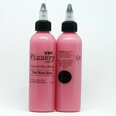 Image of Liquid Wax Melts Pink Musk Sticks