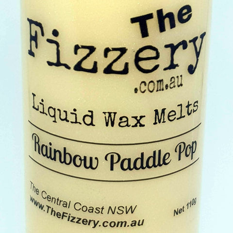 Liquid Wax Melts Rainbow Paddle Pop