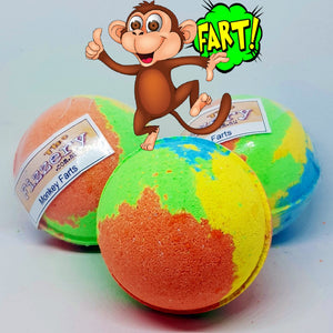 Monkey Farts Bath Bomb Ball