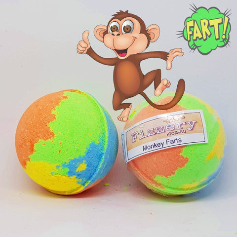 Image of Monkey Farts Bath Bomb Ball