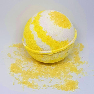 Pina Colada Bath Bomb Ball